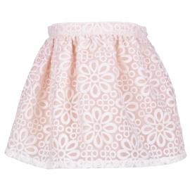 Battenberg Gathered Skirt