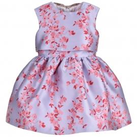 [brand] Bow Back Bodice Dress