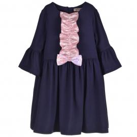 [brand] Bell Sleeved Jersey Dress