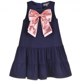 Ruffle Tier Jersey Dress