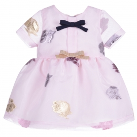 Empire Bow Dress & Bloomers