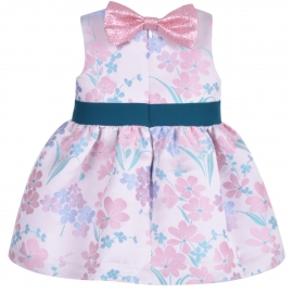Bow Belt Bodice Dress & Bloomers
