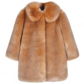 [brand] Faux Fur Coat