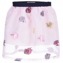 [brand] Gathered Skirt