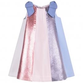 [brand] Rainbow Trapeze Dress