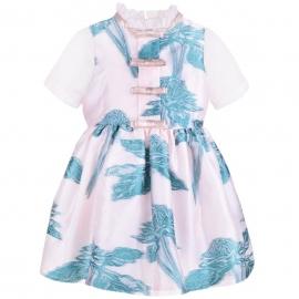 [brand] Short Sleeve Bodice Dress