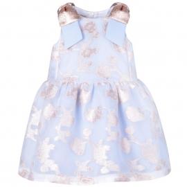 Dropped Waist Bodice Dress