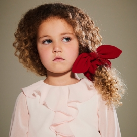 [brand] Bow Tie Scrunchie