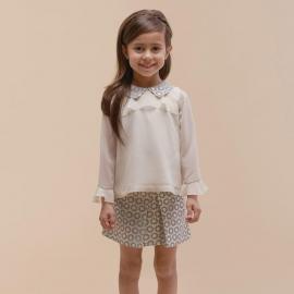 [brand] Deco Daisy Mini Skirt