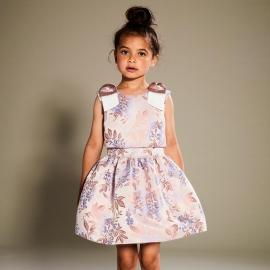 [brand] Tiered Bodice Dress