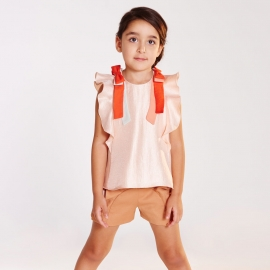 Ribbon Flutter Top