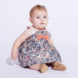 Ruffle Bodice Dress & Bloomers