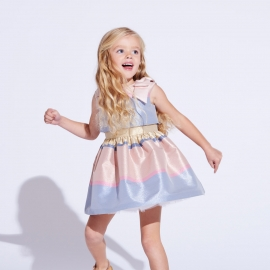 Tiered Bodice Dress