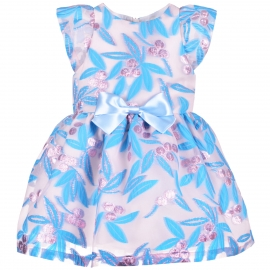 Flutter Bodice Dress