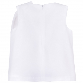 Giant Bow Shell Top