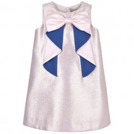 Origami Bow Shift Dress