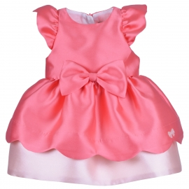 Scalloped Bodice Dress & Bloomers
