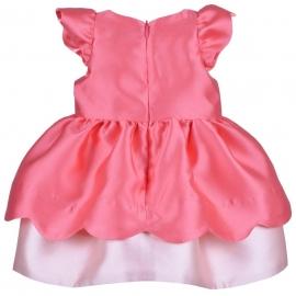 [brand] Scalloped Bodice Dress & Bloomers