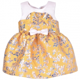 Ruffle Bib Bodice Dress & Bl