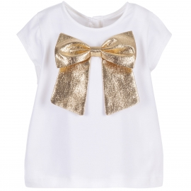 Bow Jersey Tee