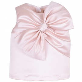 [brand] Giant Bow Shell Top