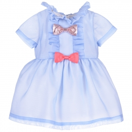 Multi Bow Bodice Dress & Bloomers