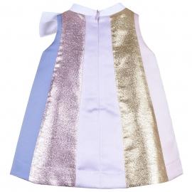 [brand] Rainbow Trapeze Dress & Bloomers