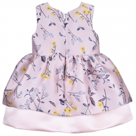 Tiered Hem Bodice Dress & Bloomers