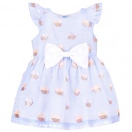 Flutter Bodice Dress & Bloomers