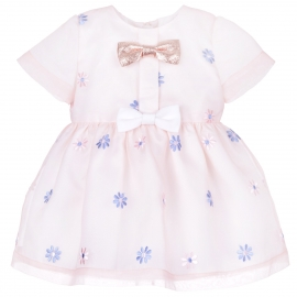 Mini Bow Bodice Dress & Bloomers