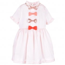 Multi Bow Bodice Dress