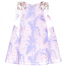 Ruffle Trapeze Dress & Bloomers