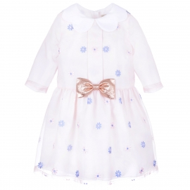 Scalloped Collar Tea Dress